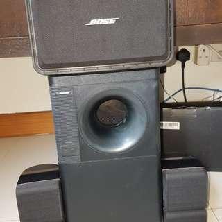 BOSE speakers 5 series II