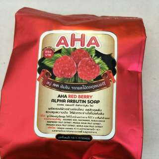 AHA RED BERRY SOAP