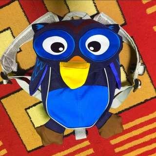Owl Blue Harness Backpack