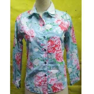 SALE blouse flower