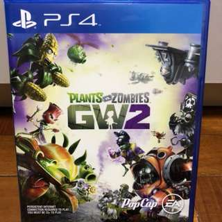 Ps 4 game - plants vs zombies