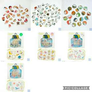 < 2 for $4.50 / $5.50 > Assorted Sticker Flakes