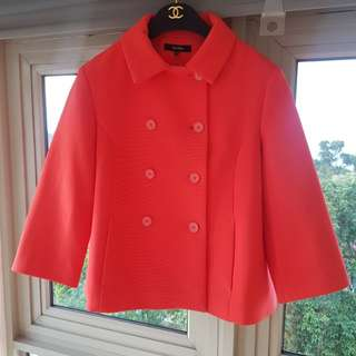 Jaspal red baby doll Coat