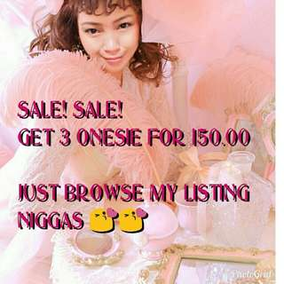 3 for 150 Baby Onesie