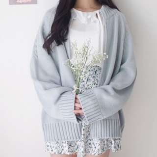 Chic sweater outerwear