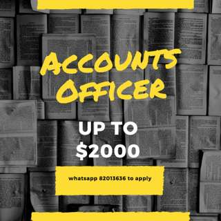 UP TO $2000 // ACCOUNTS ASSISTANT // 3 MONTHS CONTRACT // RESUME BOOSTER // WELL KNOWN ORGANISATION!