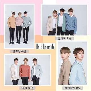 Wanna One 海報 小分隊 團體