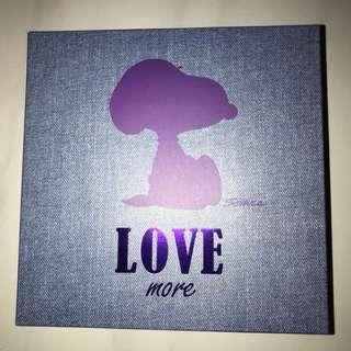 Snoopy Denim LOVE Bag