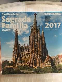 Barcelona 2017 calendar