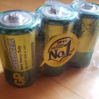 3粒大電蕊 Battery