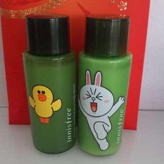 Innisfree Line Green Tea Balancing Skin/Lotion