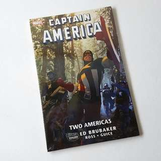 Marvel: Captain America, Two Americas (Softcover)