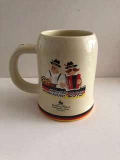 2013香港馬可孛羅酒店德國啤酒節酒杯一隻