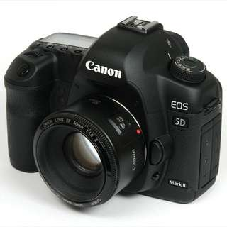 FOR RENT: 5D MARK 2 with Canon EF 50mm 1.8 Lens