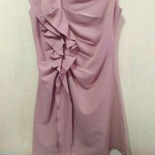 DRESS warna PASTEL