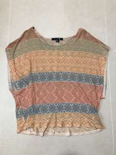 Forever 21 multicolored top