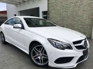 Mercedes Benz E250 Coupe Sport
