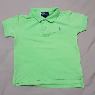 Kid's 3T Ralph Lauren Green Polo T, Kid's Clothes