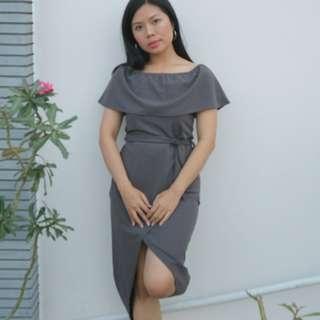 Dress Alika Grey