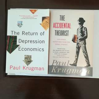 Paul Krugman's economics story books