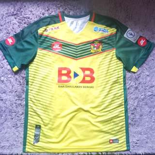 Kedah FA 2017 Player Issue Jersey Size XL.
