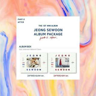 JEONG SEWOON (정세운) - PART.2 AFTER (1st mini album)