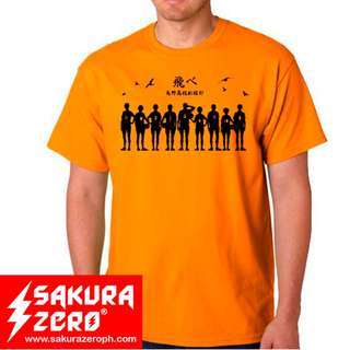 Karasuno Team Anime T Shirt (Haikyuu)