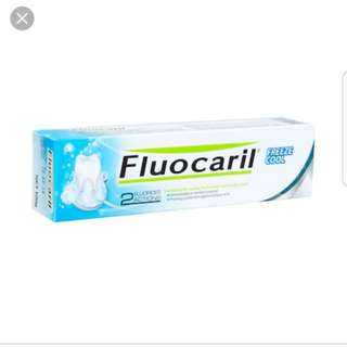 🍀Fluocaril toothpaste Freeze Cool