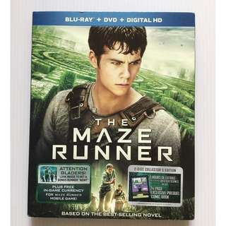 The Maze Runner Blu Ray + DVD