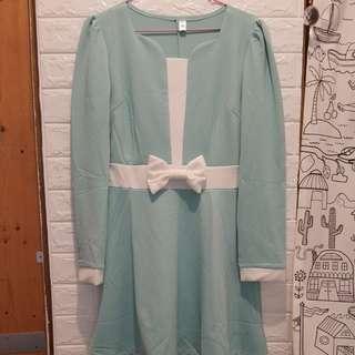 🚚 蝴蝶結洋裝