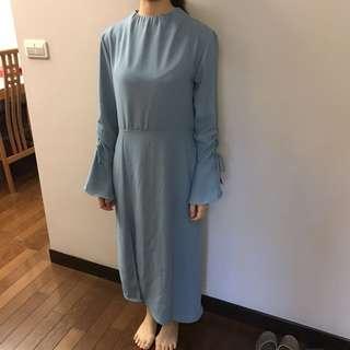 🚚 水藍洋裝