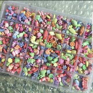 24 boxes diy beaded toy