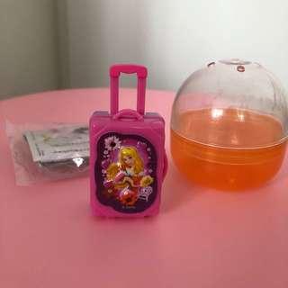 Disney Aurora princess luggage toy