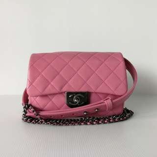 Authentic Chanel Runaway Boy Flap
