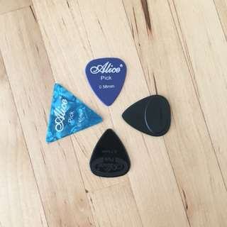 Guitar Picks - Variety pack