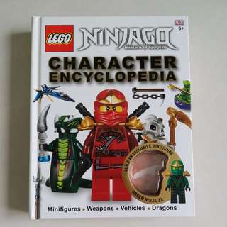 LEGO Character Encyclopedia (Ninjago;Masters Of Spinjitzu)