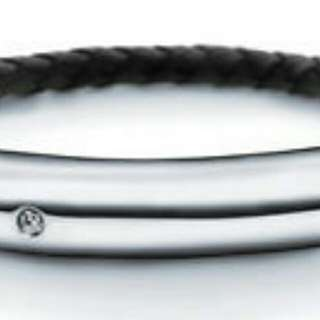 Swarovski,  Liora Collection - Men's Woven Bracelet
