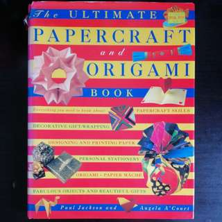 Papercraft and Origami Book