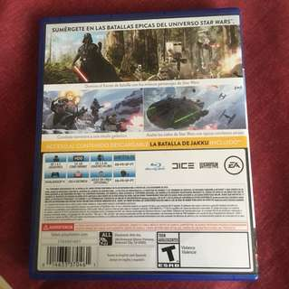 Star Wars Battlefront - Kaset PS 4