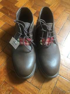 Dexter Brown Leather Shoes - Size 8