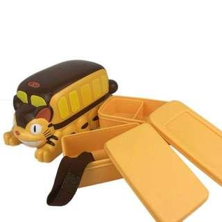 立體龍貓🐱巴士飯盒🍱