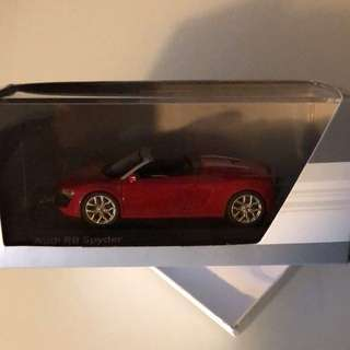 BNIB Authentic audi R8 Spyder model