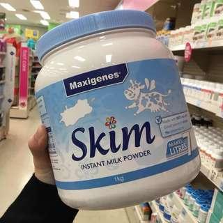 澳洲 🇦🇺美可卓成人脱脂奶粉 1kg