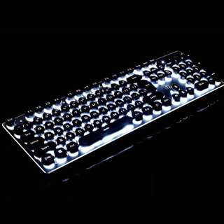 Vintage Modern Mechanical Gaming Keyboard