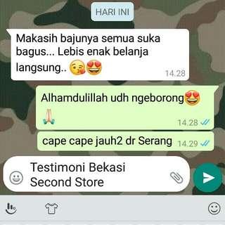 Testimoni Bekasi Second Store