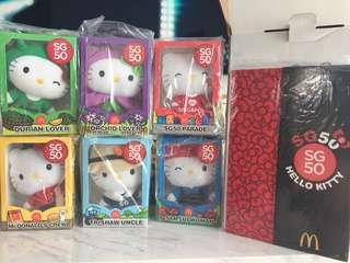 Hello Kitty SG50 Full Set With Box.
