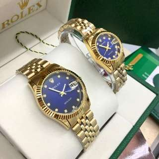 Rolex Watch Couple Set