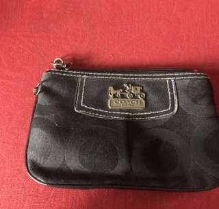 COACH WRISLET & KEY COIN POUCH !! BOTH FOR RM50