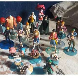 One Piece figures (All-in)