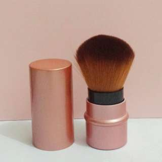 Old Rose Retractable Kabuki Brush